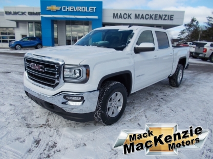 2018 GMC Sierra 1500 SLE Crew Cab 4X4 at Mack MacKenzie Motors in Renfrew, Ontario
