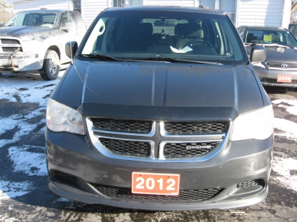 2012 Dodge Grand Caravan STOW AND GO with rear air and heat at O'Neil's Auto Sales in Odessa, Ontario