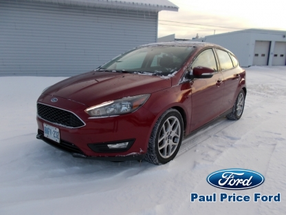 2015 Ford Focus SE at Paul Price Ford in Bancroft, Ontario