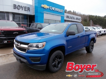 2019 Chevrolet Colorado W/T Extended Cab 4X4 at Boyer GM Bancroft in Bancroft, Ontario