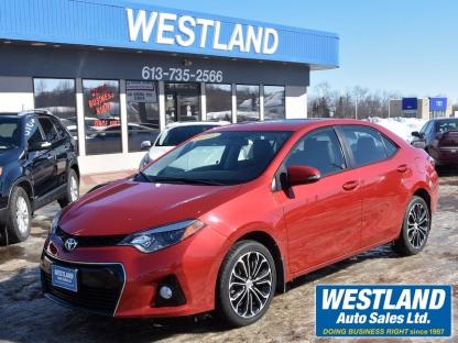2016 Toyota Corolla S at Westland Auto Sales in Pembroke, Ontario