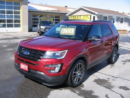 2017 Ford Explorer SPORT-AWD-ROOF-NAV-REMOTE START at Street Motor Sales in Smiths Falls, Ontario