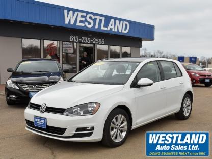 2016 Volkswagen Golf Comfort Line at Westland Auto Sales in Pembroke, Ontario