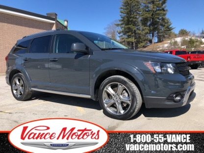 2018 Dodge Journey Crossroad Awd...7 SEats*leather*htd SEat at Vance Motors in Bancroft, Ontario