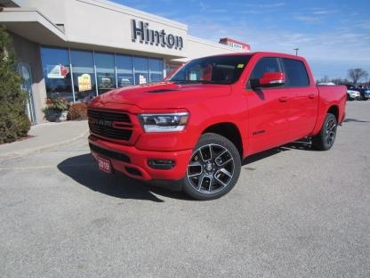 2019 RAM 1500 Sport at Hinton Dodge Chrysler in Perth, Ontario