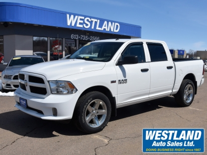 2017 RAM 1500 express ltd crew 4x4 at Westland Auto Sales in Pembroke, Ontario
