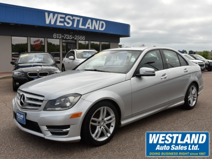 2013 Mercedes-Benz C 300 4Matic AWD at Westland Auto Sales in Pembroke, Ontario