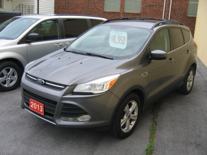 2013 Ford Escape SE EcoBoost at Clancy Motors in Kingston, Ontario