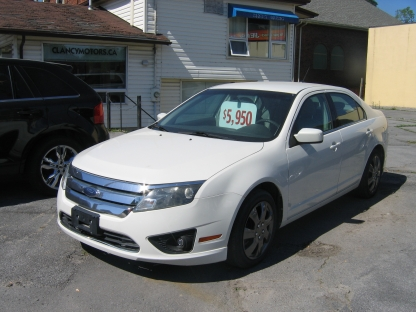 2010 Ford Fusion SE at Clancy Motors in Kingston, Ontario