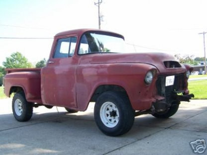1955 GMC Stepside 2nd Series
