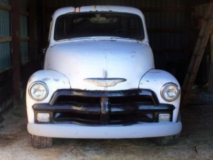1954 Chevrolet 1/2 Ton Stepside at Last Chance Auto Restore in Yarker, Ontario