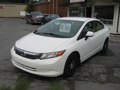 2012 Honda Civic at Clancy Motors in Kingston, Ontario