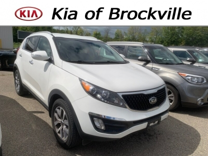 2016 KIA Sportage EX at Kia of Brockville in Brockville, Ontario