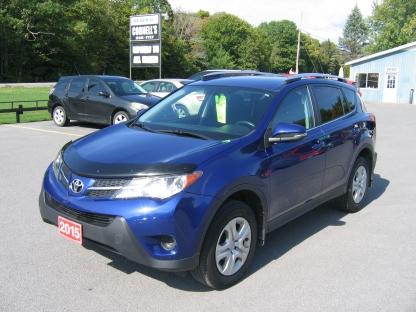 2015 Toyota Rav4 LE AWD at Cornell's Auto Sales in Wilton, Ontario