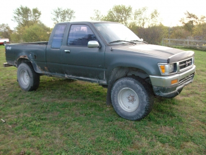 1993 Toyota Tacoma Extended Cab 4x4 at Last Chance Auto Restore in Yarker, Ontario