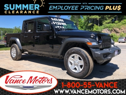 2020 Jeep Gladiator Sport S 4x4...htd SEats*backup Cam*tow! at Vance Motors in Bancroft, Ontario