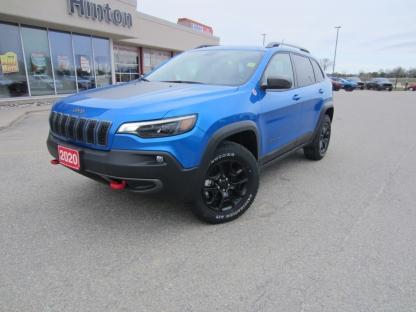 2020 Jeep Cherokee Trailhawk Elite at Hinton Dodge Chrysler in Perth, Ontario