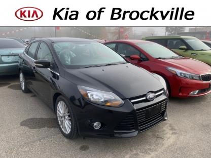 2013 Ford Focus Titanium at Kia of Brockville in Brockville, Ontario