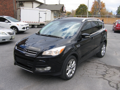 2016 Ford Escape Titanium EcoBoost AWD at Clancy Motors in Kingston, Ontario