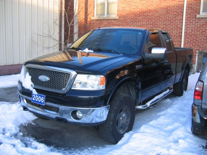 2006 Ford F-150 Lariat SuperCab 4x4 at Clancy Motors in Kingston, Ontario