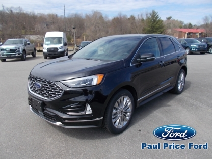 2020 Ford Edge Titanium AWD at Paul Price Ford in Bancroft, Ontario