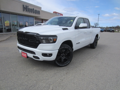 2020 RAM 1500 Big Horn Night Edition at Hinton Dodge Chrysler in Perth, Ontario