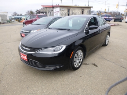2016 Chrysler 200 LX at Edgetown Motors in Smith's Falls, Ontario