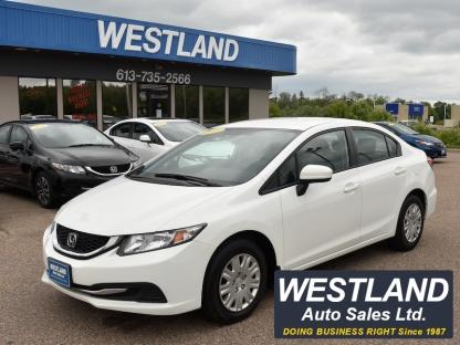 2015 Honda Civic LX at Westland Auto Sales in Pembroke, Ontario