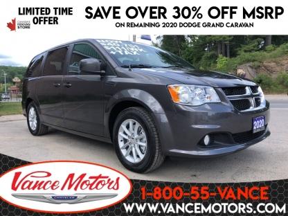 2020 Dodge Grand Caravan Premium Plus...htd SEats*dvd*backup Cam! at Vance Motors in Bancroft, Ontario