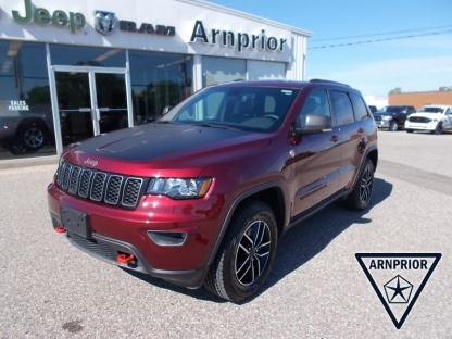 2020 Jeep Grand Cherokee Trailhawk 4X4 at Arnprior Chrysler in Arnprior, Ontario