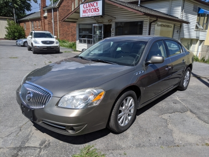 2010 Buick Lucerne at Clancy Motors in Kingston, Ontario