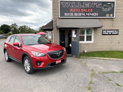 2015 Mazda CX-5 GT at Tallen's Auto Sales in Kingston, Ontario
