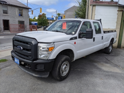 2013 Ford F-250 XL SuperDuty Crew Cab Long Box 4x4 at Clancy Motors in Kingston, Ontario