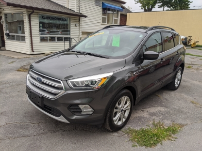 2017 Ford Escape SE EcoBoost at Clancy Motors in Kingston, Ontario