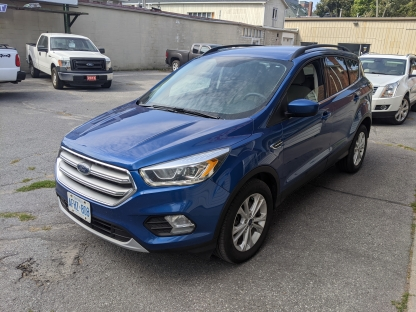 2017 Ford Escape SE EcoBoost AWD at Clancy Motors in Kingston, Ontario