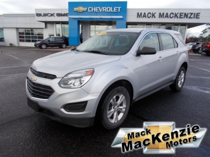2016 Chevrolet Equinox LS AWD at Mack MacKenzie Motors in Renfrew, Ontario