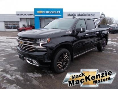 2021 Chevrolet Silverado 1500 High Country Crew Cag 4X4 at Mack MacKenzie Motors in Renfrew, Ontario