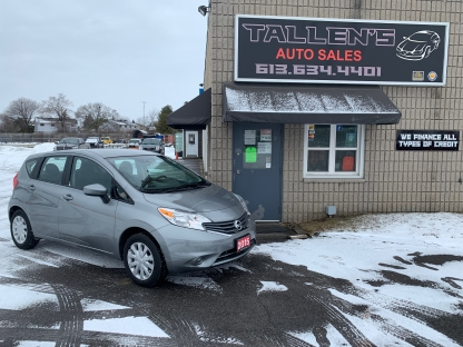 2015 Nissan Versa Note S at Tallen's Auto Sales in Kingston, Ontario