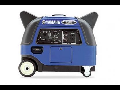 2016 yamaha ef3000iseb inverter generator at the for Yamaha 3000 watt inverter
