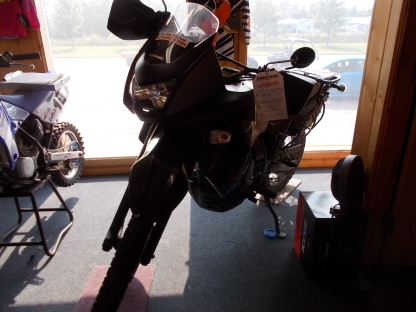 2014 Kawasaki KLR 650 at Banville's in Petawawa, Ontario