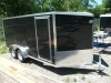 2013 E-Z Hauler 7x16 V-Nose, Ramp Door For Sale Near Perth, Ontario