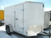 2014 Wells Cargo 6x10 Fast Trac Cargo Trailer with Barn Doors For Sale