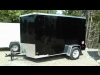 2014 Wells Cargo 6x10 Fast Trac Cargo Trailer with Barn Doors For Sale Near Perth, Ontario