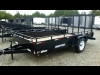 2014 Sure Trac 6x12 Utility Trailer - Steel Hi-Side For Sale
