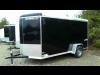 2015 Stealth 6x12 Liberty Cargo Trailer with Ramp Door For Sale Near Perth, Ontario