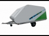 2015 Karavan Sno-Kap Covered Sled Trailer For Sale