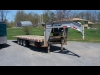 2008 Fastline 30' Gooseneck Float with Hydraulic Beavertail