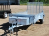 2015 Advantage 5x10 Galvanized Landscape Trailer For Sale