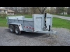 2017 Advantage 5 Ton Dump Trailer Galvanized 6 X 12 - Brand New! For Sale Near Kingston, Ontario