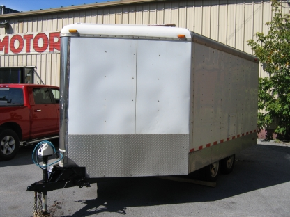 2005 Cargo Mate Snowbird SB85X 8.5x16 V-Nose Tandem at Clancy Motors in Kingston, Ontario